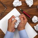 ¿Qué hacer cuándo te quedas sin ideas para escribir?