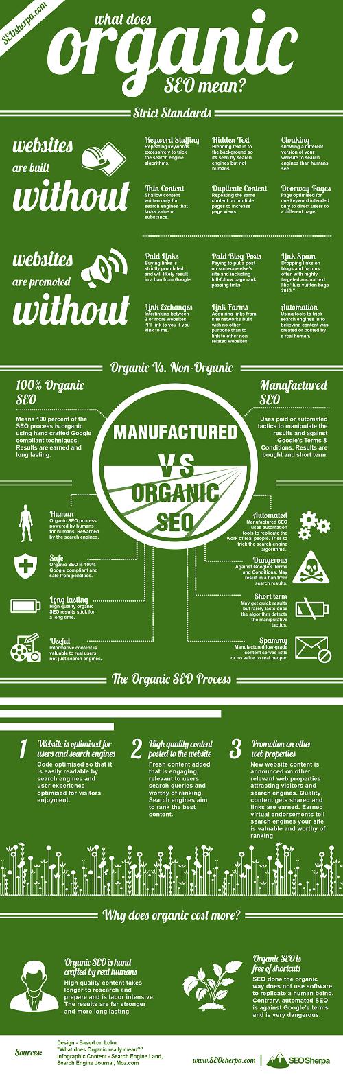 Guía fácil para entender el SEO orgánico #infografía