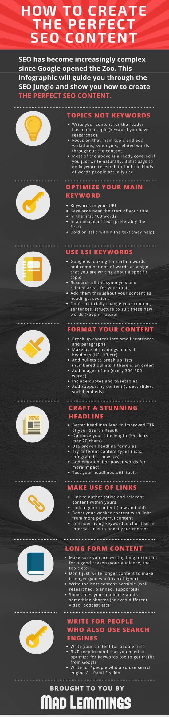 como-escribir-contenido-SEO-infografía