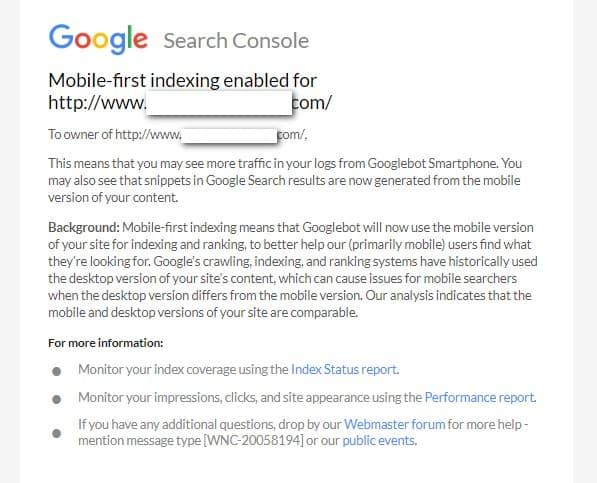 correo de google mobile first
