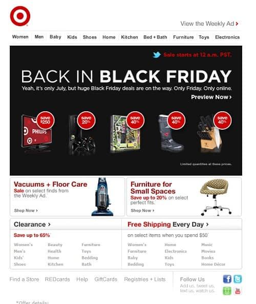 prepara la web para ventas de black friday y cyber monday