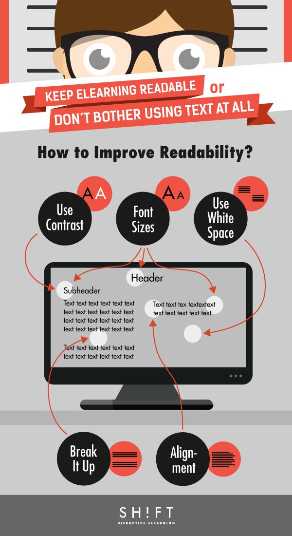 legibilidad infografia