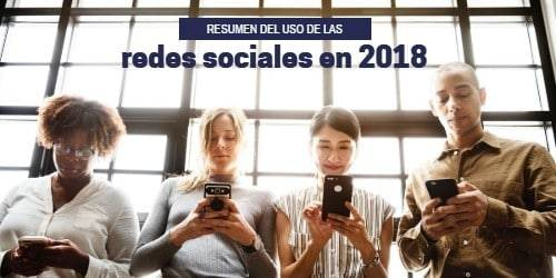 |uso de las redes sociales en 2018|perfiles por empresa|principales problemas empresas a nivel global|roi a nivel global