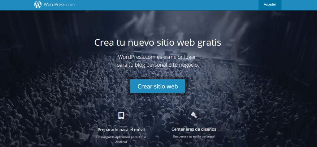 crear tu pagina web con wordpress