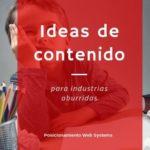 encontrar ideas de contenido para industrias aburridas