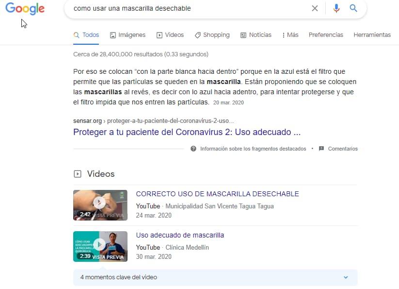 busqueda google video